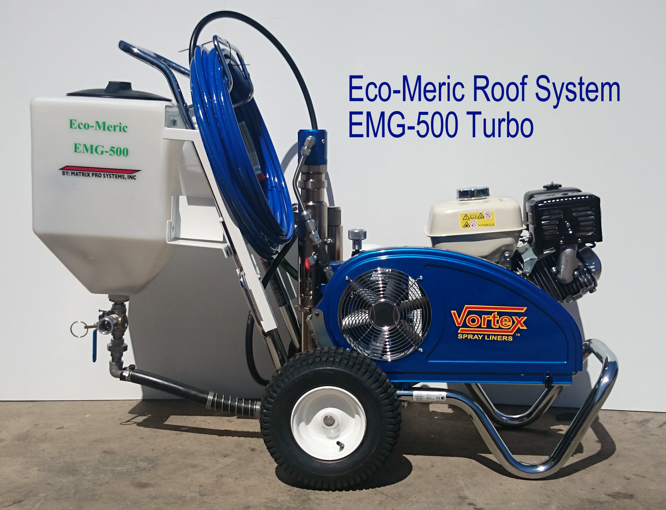 Eco-Meric Roof System EMG-500 Turbo