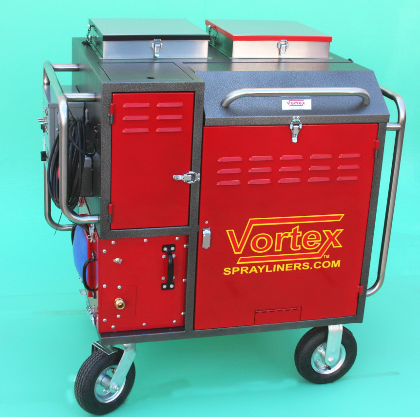 Vortex Spray Liner Portable System KV5006