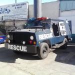 Police Vehicle Completely Vortexed